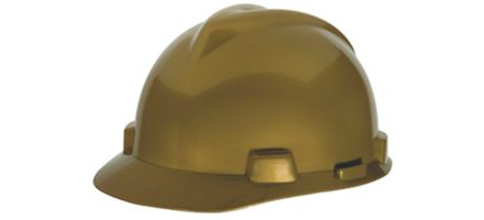 The MSA Gold Helmet award