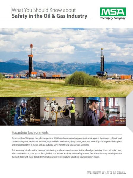What You Should Know About Safety in Oil & Gas Industry whitepaper