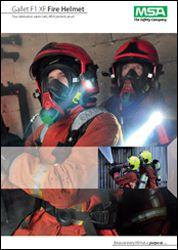 Gallet F1 XF Fire Helmet