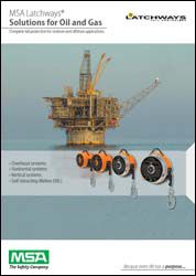 MSA Latchways® Fall Protection Solutions for Oil and Gas