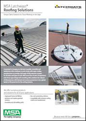 MSA Latchways® Fall Protection Roofing Solutions