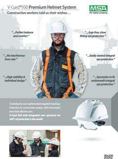 V-Gard 930 Premium Helmet System - Construction