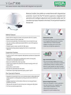 V-Gard® 930 (Non-Vented) Datasheet