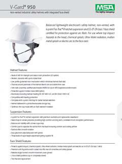 V-Gard® 950 Datasheet
