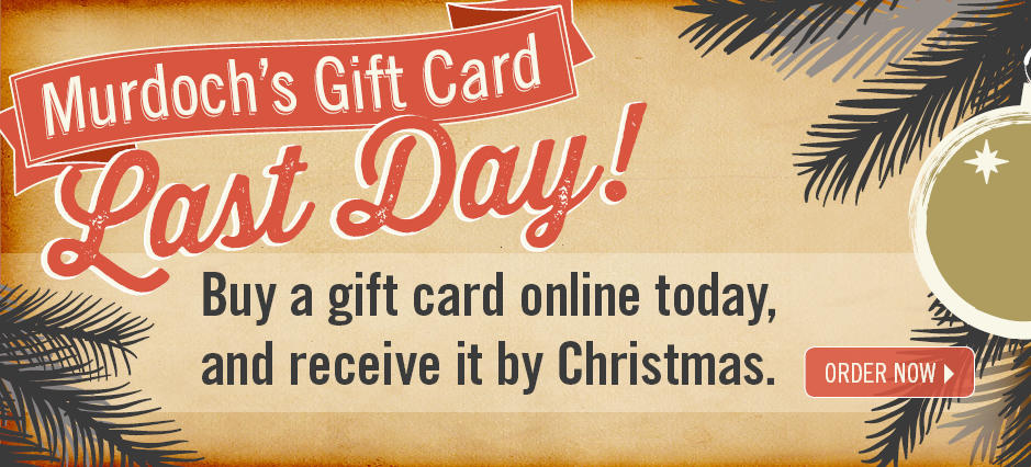Order Gift Cards!