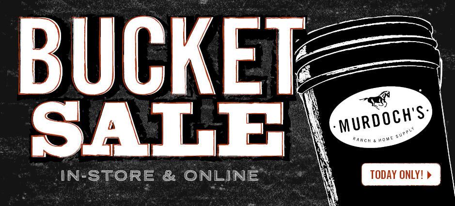 Shop the Bucket Sale!