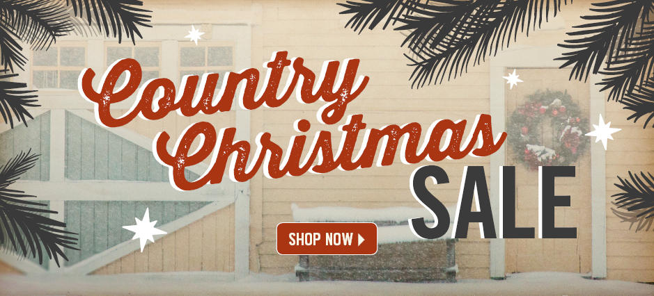 Shop the Country Christmas Sale