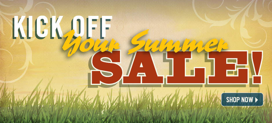 Shop the Kick Off Your Summer Sale!