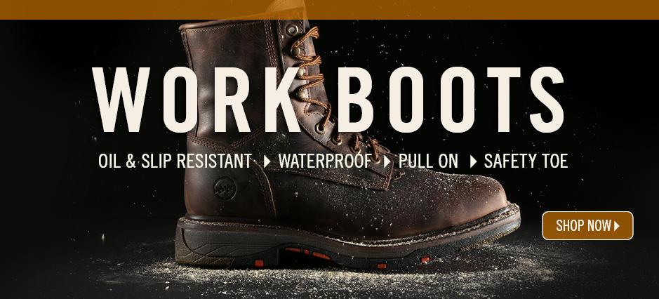 Shop Work Boots!