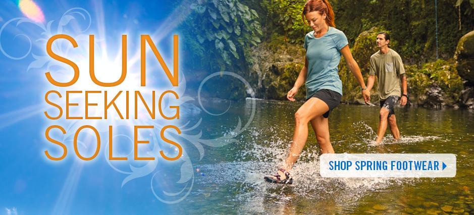 Shop Spring Footwear!