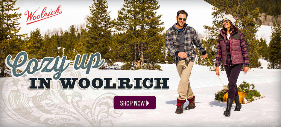 Cozy up in Woolrich