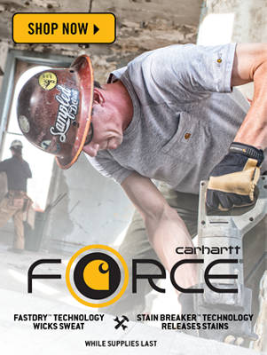 Shop Carhartt Force Here!
