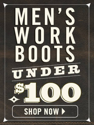 Mens Work Boots Under $100 - Nav Tools