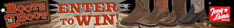 Enter the August Boots-to-Boot Contest!