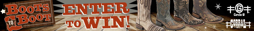 Enter to win the June 2016 Boots To Boots contest!