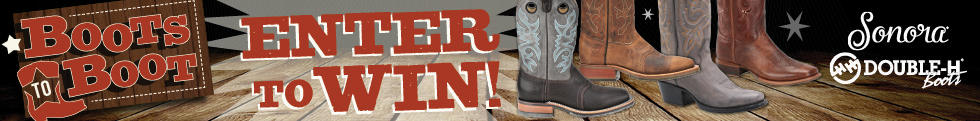 Enter to Win the July Boots To Boots Contest!