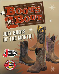 July Boots to Boot
