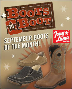 September Boots to Boot