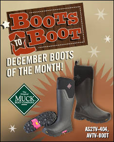 December Boots to Boot