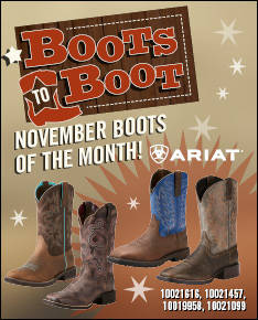 November Boots to Boot