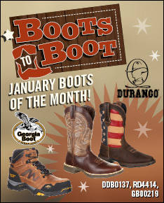January Boots to Boot