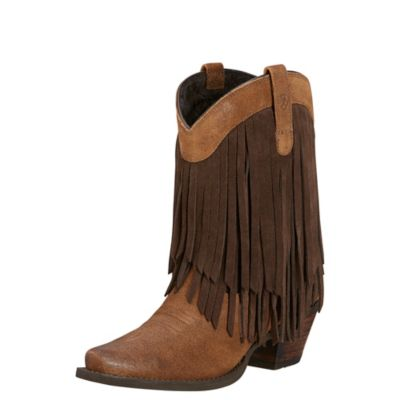 Ariat fringe boot