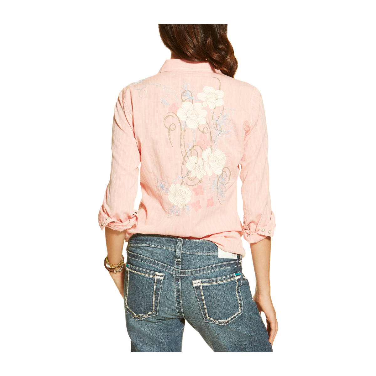 Back pink Ariat shirt 2016