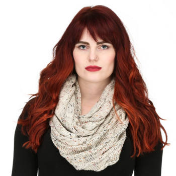 CC - Women's Cable Knit Infinity Scarf
