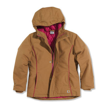 Carhartt<sup>®</sup> - Girls' Boone Canvas Jacket