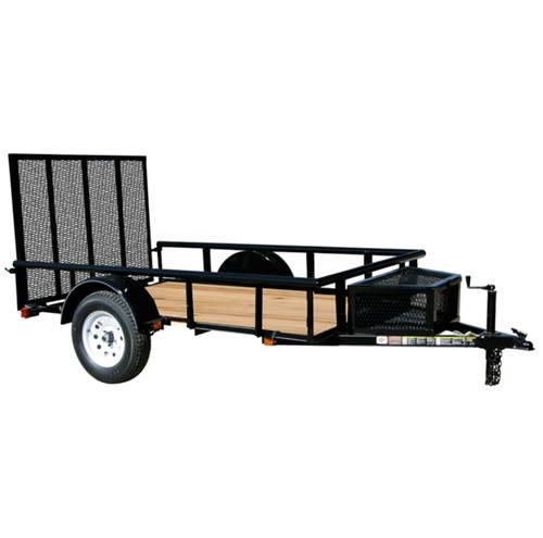 Murdoch 39 s carry on 5 5 x 10 wood floor trailer with for 5x10 wood floor trailer