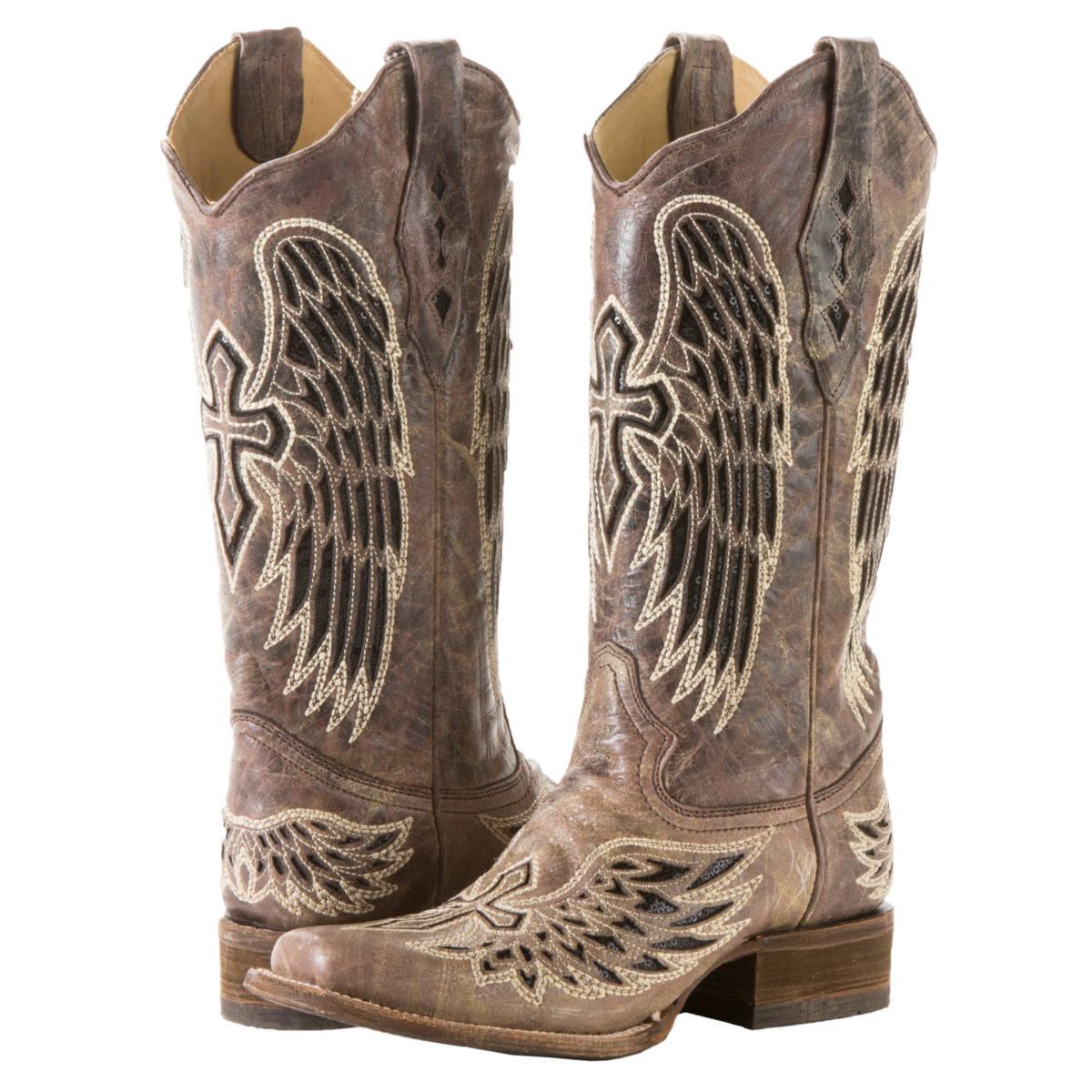 Women's Cross Cowgirl Boots 38