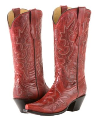 Corral womens desert red stitched boot