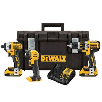 DEWALT - 20V MAX* Drill Impact Light T.S. Combo Kit DCKTS386D2
