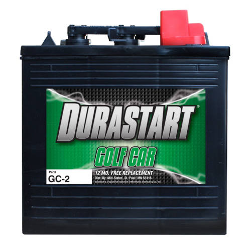murdoch 39 s durastart 6 volt deep cycle golf car battery. Black Bedroom Furniture Sets. Home Design Ideas