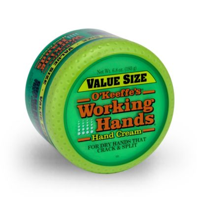 Okeefes working hands