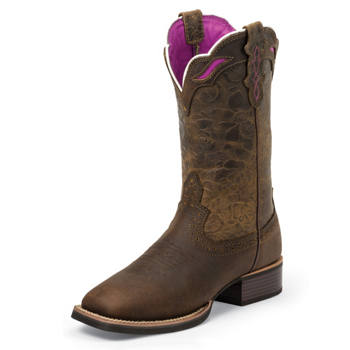 murdoch s justin boots s 11 quot wide square toe