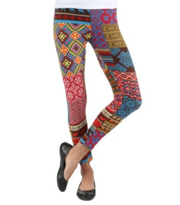 Spanish tile leggings