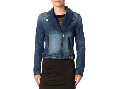 Miss Me Denim Moto Jacket