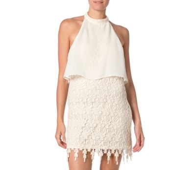 Miss Me white lace dress