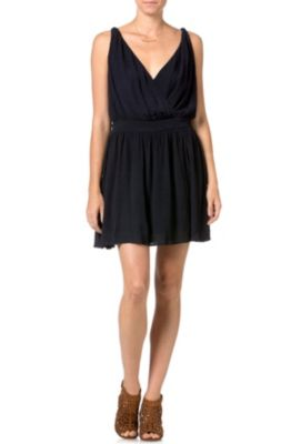 Miss Me Navy Spring Dress
