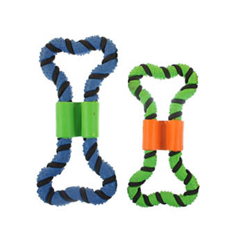 Multipet - Rubber Pretzel Dog Toy