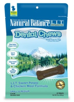 NATURAL BALANCE DENTAL CHEWS LIT