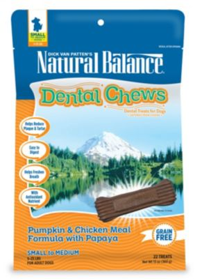 Natural Balance dental chews for dogs