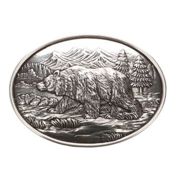 Nocona - Grizzly Bear Belt Buckle