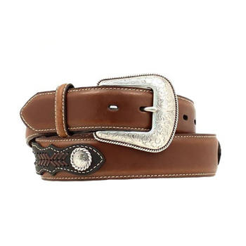 Nocona - Men's Tophand Ribbon Inlay Belt