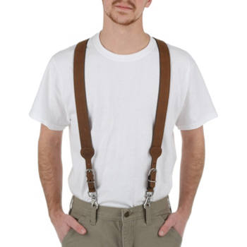 Nocona - Men's Leather Basketweave Galluse Suspender