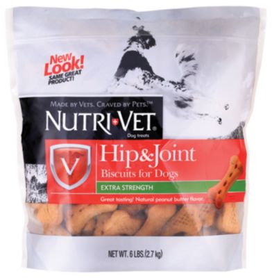 Nutri Vet hip and joint biscuits