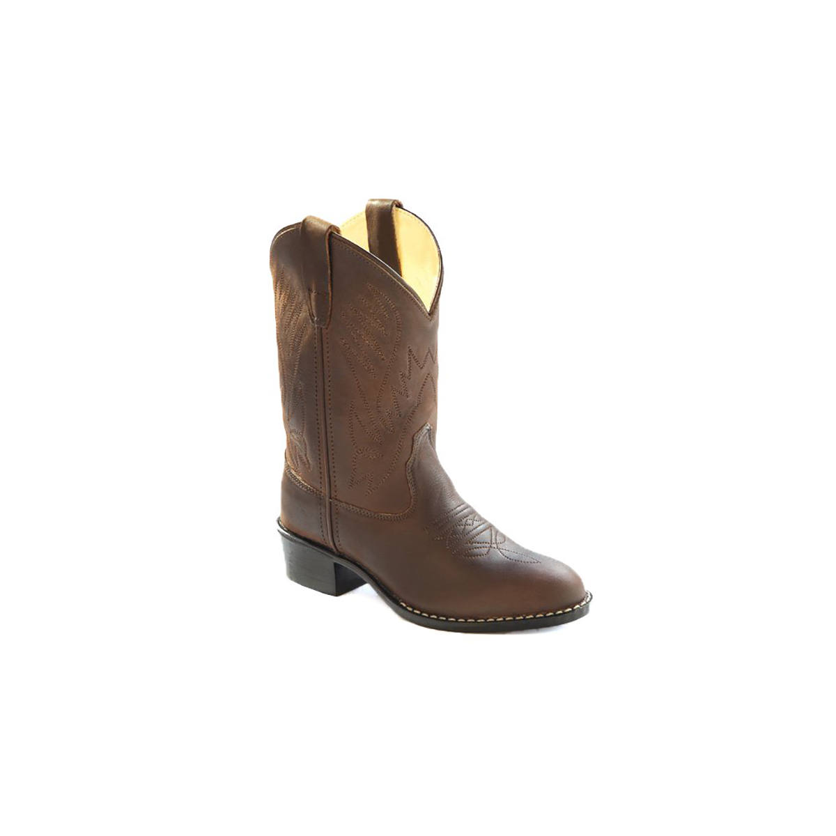 Round Toe Western Boot