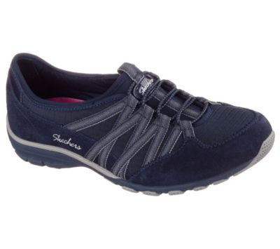 Sketchers navy tennis shoes