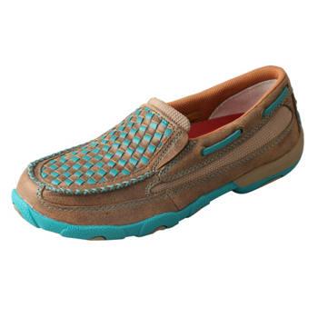 Murdoch S Twisted X Women S Basketweave Slip On Moc Shoe
